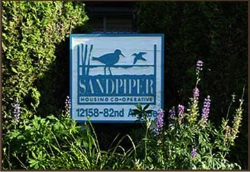 Sandpiper welcome sign